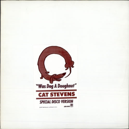 Cat Stevens ‎– Was Dog A Doughnut? (Special Disco Version)